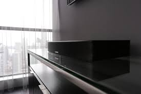 hisense home theater fluance u0027s ab40 soundbase packs entire home theater system into a