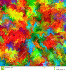 abstract rainbow color paint splash art watercolor background