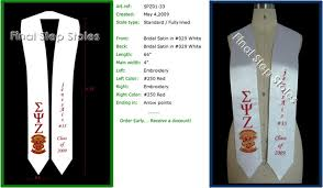 sashes for graduation exles of standard graduation sash types