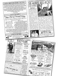 newspaper wedding programs 30 best newspaper wedding program images on wedding