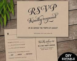 wedding rsvps wedding rsvp cards template rustic printable wedding rsvp