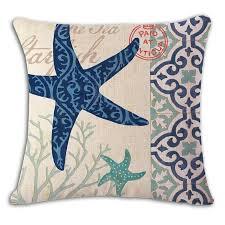online shop wedding decoration marine cushion cover animal for