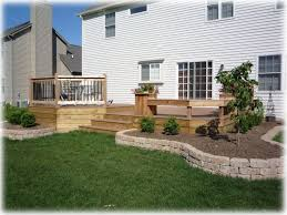 Ideas For Backyard Landscaping 46 Best Images About New House Deck On Pinterest Planters