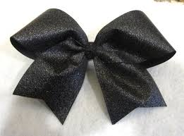 african american cheer hair bows cheer bows glitter cheer bow black glitter bow black cheer