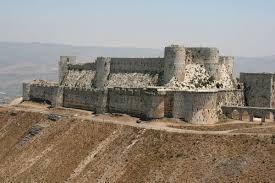 crusader castle crac des chevaliers hama syria crac des