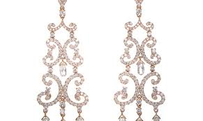 Rose Gold Chandelier Earrings Lil B Chandelier Earrings Beautify Themselves With Earrings