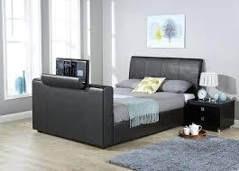 Tv Storage Bed Frame Tv Storage Bed Frame Brook Black Bed Frame Trend Lab Blue Sky