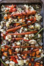 Glazed Root Vegetables Recipe - roasted vegetables with asian garlic ginger glaze the roasted root