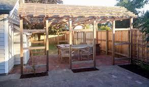 backyard fence extension home u0026 gardens geek