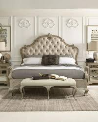 bernhardt ventura tufted king bed