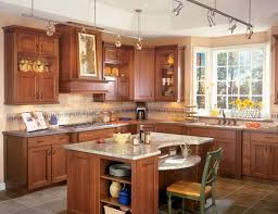 Kitchen Island Track Lighting Kitchen Bright Track Lighting For The Kitchen Cherry Wood Kitchen