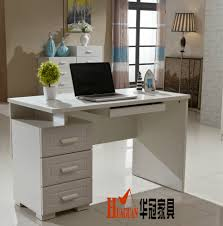 Home Office Double Desk by Three Drawers Minimalist Home Computer Desktop Computer Desk Study