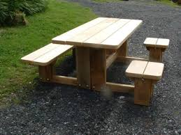 childrens wooden picnic table benches patterns for outdoor benches slide 3 of 3 solid wooden picnic