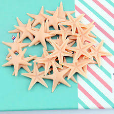 starfish decorations 50pcs starfish sea crafts fish tank bracelet decorations