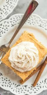 easy to make thanksgiving food no bake pumpkin pie icebox cake