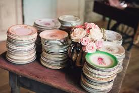 mismatched plates wedding australian cool perth wedding photographer29 g ö