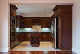 kitchen cabinet cherry pictures of kitchens traditional dark wood kitchens cherry color