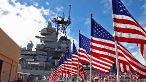 Flags In Hawaii Honolulu Oahu Hawaii Usa August 21 2016 Sinks Showers And