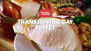 golden corral thanksgiving day buffet tv commercial new family