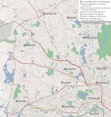 Mbta Map Green Line by Theredline U2013 Vanshnookenraggen