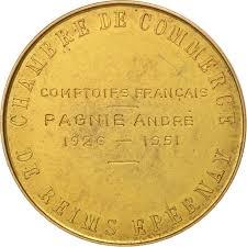 chambre de commerce de reims 505300 medal colbert chambre de commerce de reims epernay