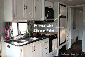 Caravan Kitchen Cabinets How To Paint Rv Cabinets Without Sanding Or Primer