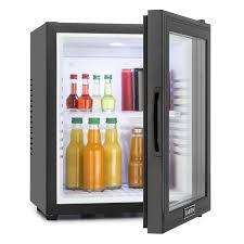 mini bar fridge glass door klarstein mks 13 mini glass door bar fridge 32l upright commerical
