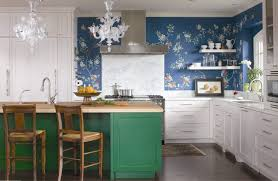 washable wallpaper for kitchen backsplash washable wallpaper ideas powder room eclectic with powder room