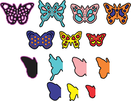 cheery designs die mini dimensional butterflies with