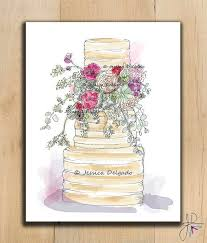 29 best wedding cake sketches images on pinterest cards cake