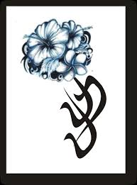 30 hibiscus black and white tattoos
