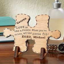 wood gifts personalized keepsake gifts match wood puzzle