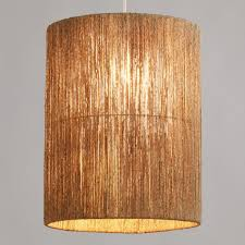 Lampshade For Floor Lamp Tall Woven Jute Drum Floor Lamp Shade World Market