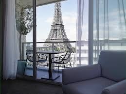 hotel in paris pullman paris eiffel tower eiffel suite 1 king size bed view of the eiffel tower