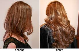 Thin Hair Extensions Before And After by Envy Salon U0026 Spa Sherman Oaks Cahair Extensions Envy Salon