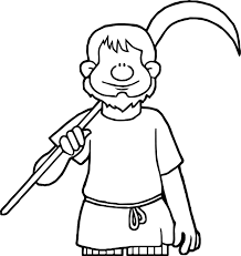 celts farmer coloring page wecoloringpage