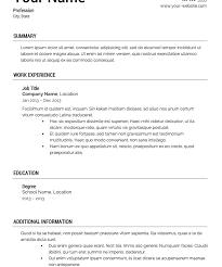 Resume Tmeplate Download Resumes Template Haadyaooverbayresort Com