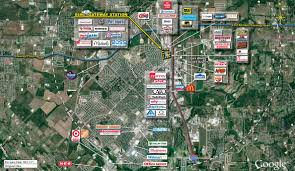 Dallas Suburbs Map by Burleson Tx Gateway Station Retail Space Kimco Realty