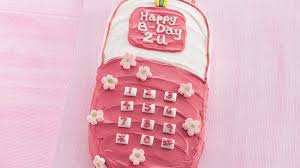 happy birthday cell phone cake recipe bettycrocker
