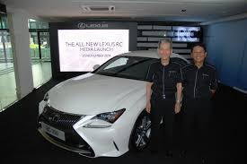 lexus f sport price malaysia lexus rc 350 and rc f coupes officially launched in malaysia