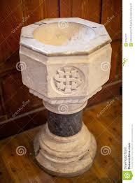 baptismal fonts baptismal font stock photo image 57042571