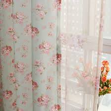 Curtains Printed Designs Bud Green Polyester Curtains With Flower Printed Patterns Buy