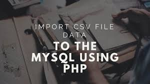 Php Spreadsheet How To Import Csv Into Mysql Database Using Php