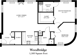300 Sq Ft Apartment 1300 Sq Ft House Plans Exquisite 11 Woodbridge Floor Plan 1 300