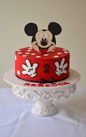 image via mickey mouse birthday cakes and cupcakes image via