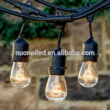 Edison Bulb String Lights S14 Warm White Globe String Light Edison Bulb String Light Garland