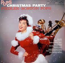 fiedler arthur pops christmas party boston pops lm2329