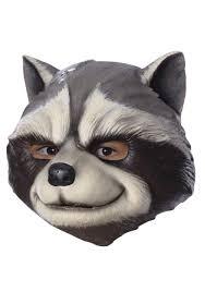 child rocket raccoon 3 4 mask