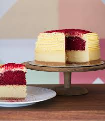 cream cheese red velvet cheesecake the velvet cake co