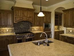 kitchens with dark floors dark walnut stain kitchen cabinets dark
